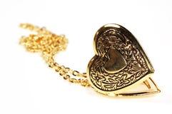 Locket do coração Imagem de Stock Royalty Free