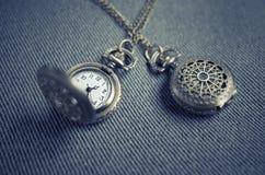 Locket, Pendant, Necklace, Watch Royalty Free Stock Photo