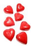lockets de coeur rouges Photographie stock libre de droits
