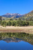 Lockett Meadow Autumn Reflection Royalty Free Stock Images