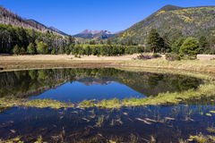 Lockett Meadow Reflection In Fall Stock Photos