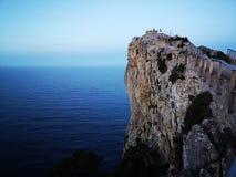 LockFormentor Balearics öar royaltyfria foton