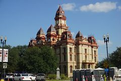 Lockhart Courthouse immagine stock