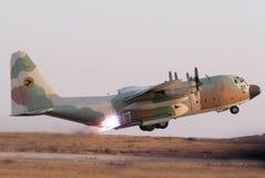 Lockhead C-130赫拉克勒斯 免版税库存照片