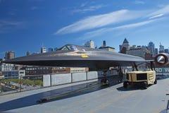 Lockheed A-121 en el museo de Interpid Foto de archivo