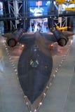 Lockheed Blackbird in Museum stock image