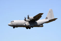 Lockheed C-130 Hercules Military Transport Stock Photo