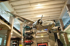 1935 Lockheed 10A Electra Μουσείο επιστήμης στο Λονδίνο Στοκ φωτογραφία με δικαίωμα ελεύθερης χρήσης