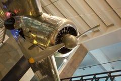 Lockheed 1935 10A Electra Музей науки в Лондоне Стоковые Фото