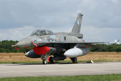 Lockheed F-16D fighter jet Royalty Free Stock Image