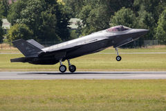 Lockheed F-35 fighter jet Royalty Free Stock Photos