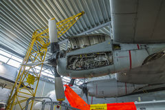 Lockheed γ-130h Hercules Στοκ Φωτογραφίες