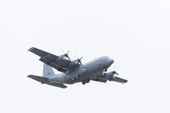 Lockheed Hercules αεροπλάνο μεταφορών Στοκ φωτογραφίες με δικαίωμα ελεύθερης χρήσης