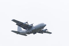 Lockheed Hercules transportu samolot Zdjęcia Royalty Free