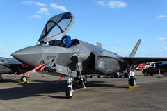 Free Lockheed Martin F-35 Lightning II On Tarmac Stock Photo - 79949790