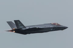 Lockheed Martin F-35 błyskawica II obraz royalty free