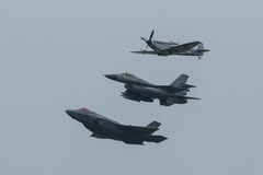 Lockheed Martin F-35 błyskawica II zdjęcia stock