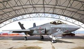 Lockheed Martin F-35 Bliksem II Royalty-vrije Stock Afbeeldingen