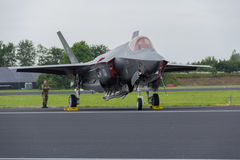 Lockheed Martin F-35 blixt II Royaltyfria Bilder