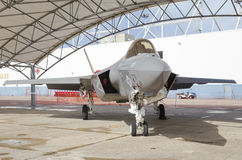 Lockheed Martin F-35. Lightning II at Wings Over South Texas Air Show, kingsville , Texas Stock Photos