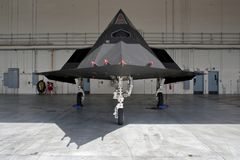 Lockheed Martin F-117 Nighthawk stealth fighter jet Stock Photos