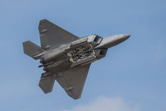 Lockheed Martin F-22 Raptor royalty-vrije stock foto's