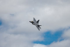 Lockheed Martin F-22 Raptor stock photo