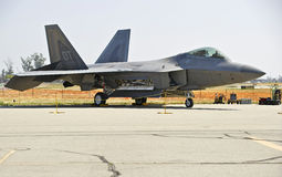 Lockheed Martin F-22 Raptor Tactical Fighter Aircraft Royalty Free Stock Photos