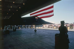Lockheed φ-117 Nighthawk Στοκ φωτογραφίες με δικαίωμα ελεύθερης χρήσης