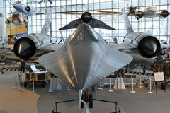 Lockheed SR-71 Blackbird. In the Museum of Flight, Seattle, Washington, USA Stock Photography