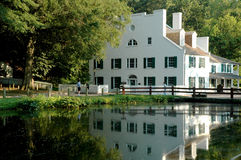 Lockhouse em Great Falls, Maryland Imagens de Stock