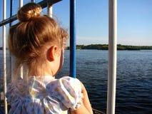 lockig flicka little Royaltyfria Bilder