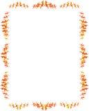 Lockig ram (vektorn) Royaltyfria Bilder