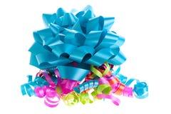 lockiga band för bow Royaltyfri Foto
