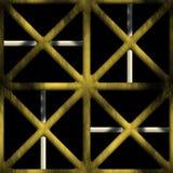 Lockiges dekoratives Gitter Lizenzfreie Stockfotografie