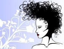 lockigt hår Arkivbilder
