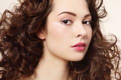 Lockigt hår royaltyfri foto