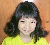 lockigt hår Arkivbild