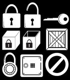 Locking devices Royalty Free Stock Photos