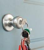 Locking the Door Stock Photos