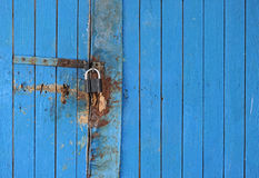 Locking door Stock Image