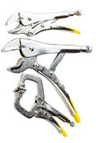 Locking plier set Royalty Free Stock Photography