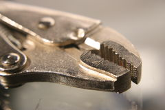 Locking pliers Stock Image