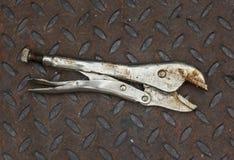 Locking Pliers Royalty Free Stock Photo