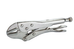 Locking Pliers Royalty Free Stock Images
