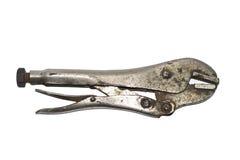 Locking pliers stock photography