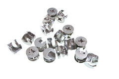 Locking screws Stock Photography
