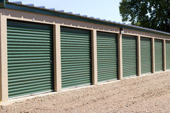 Locking Self Storage Units Stock Images