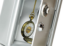 Locking time Royalty Free Stock Photo