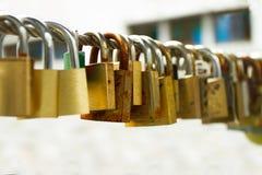 Lockpad oxidado Fotos de Stock Royalty Free